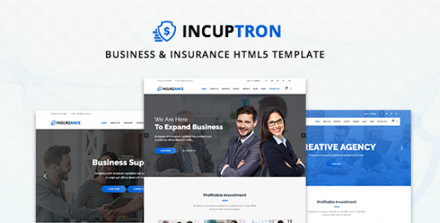 Incuptorn - Business & Insurance HTML5 Template