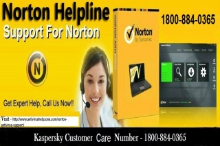 Dial 1800-884-0365 Norton Customer Care Number to resolve your issues