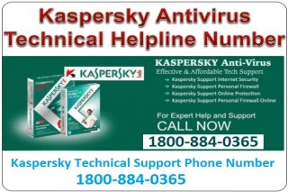Contact 1800-884-0365 Kaspersky Technical Support Number