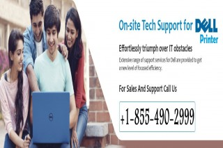 Contact us through our Dell Printer Customer Support Number +1-855-490-2999