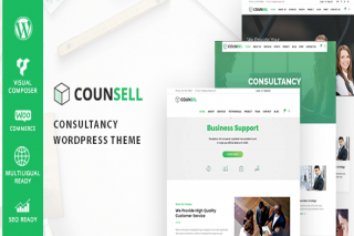Counsell – Consultancy WordPress Theme by zozothemes