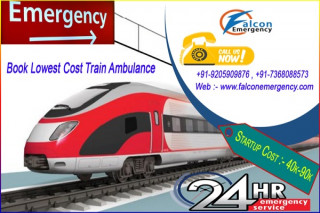 Get Most Affordable Cost Train Ambulance in Mumbai by Falcon Emergency