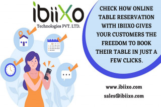 Online Restaurant Reservation System | OpenTable Booking System - Ibiixo Technologies